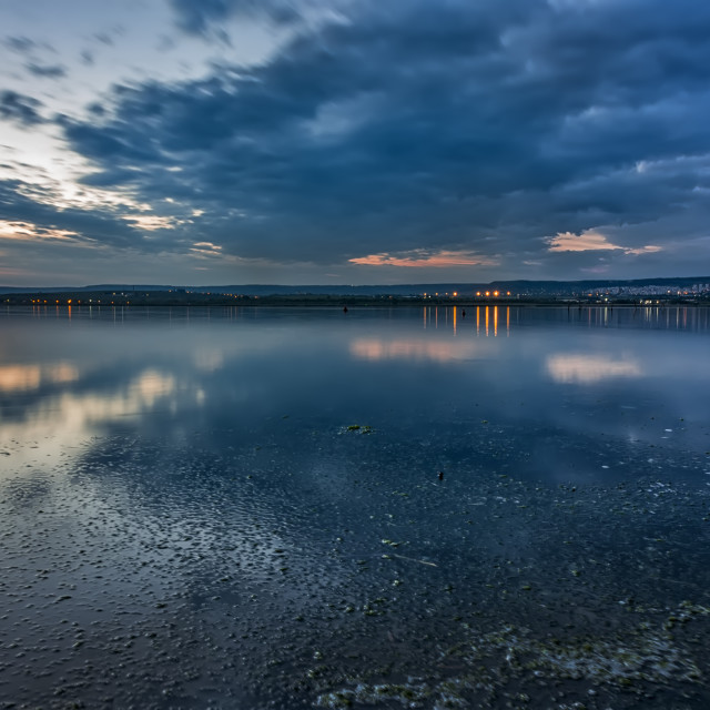 """""""blue hour"""" stock image"""