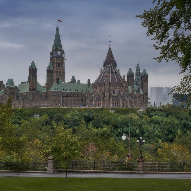 """Parliament Hill"" stock image"