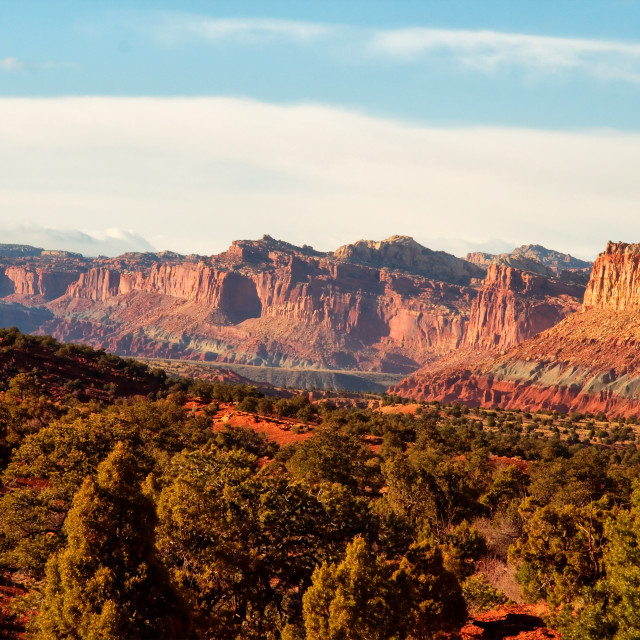 """""""Capitol Reef 055"""" stock image"""