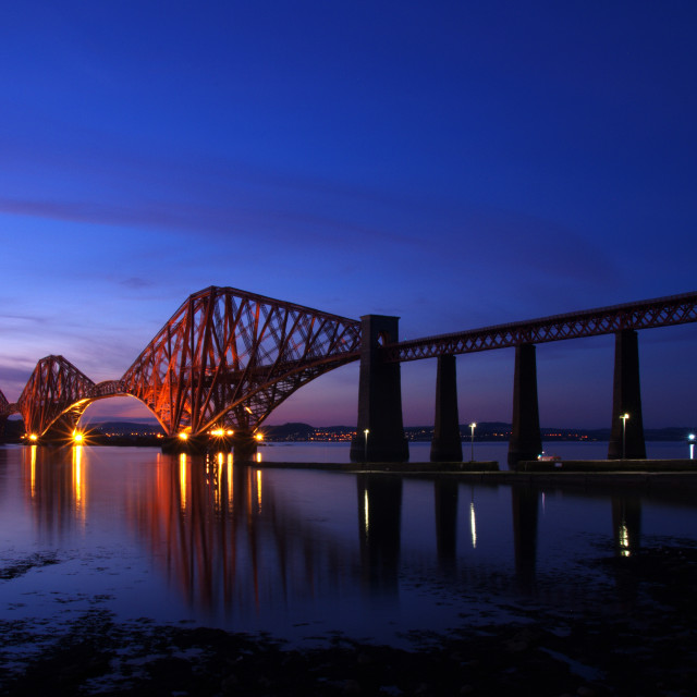 """Forth Bridge"" stock image"