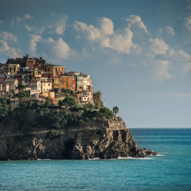 """Beautiful Villages of Cinque Terre Italy"" stock image"