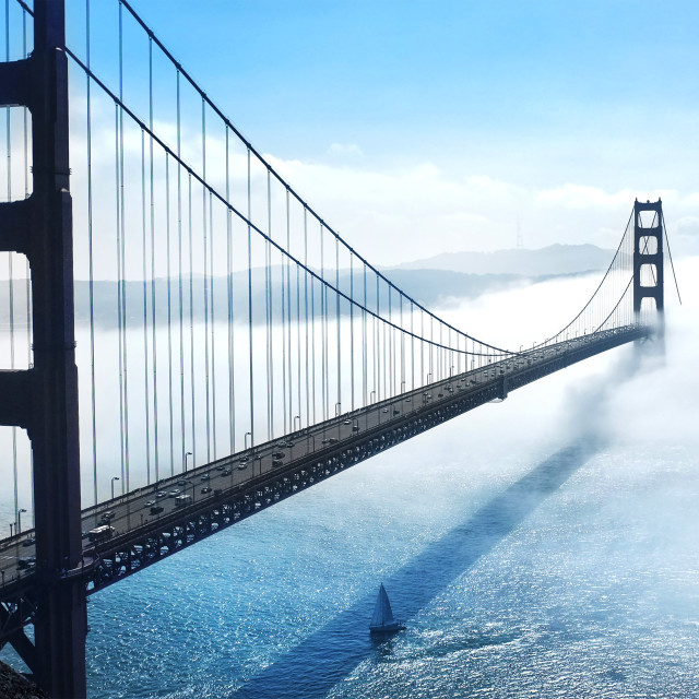 """Golden Gate Bridge 3"" stock image"