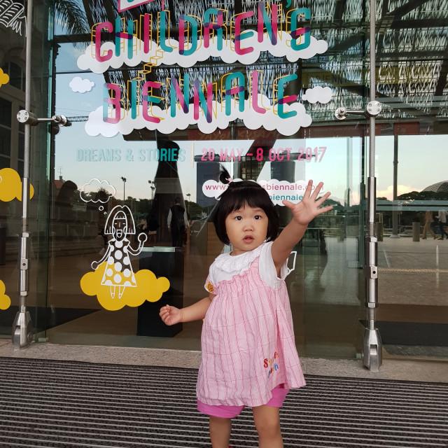 """Children Biennale Festival- A Day"" stock image"