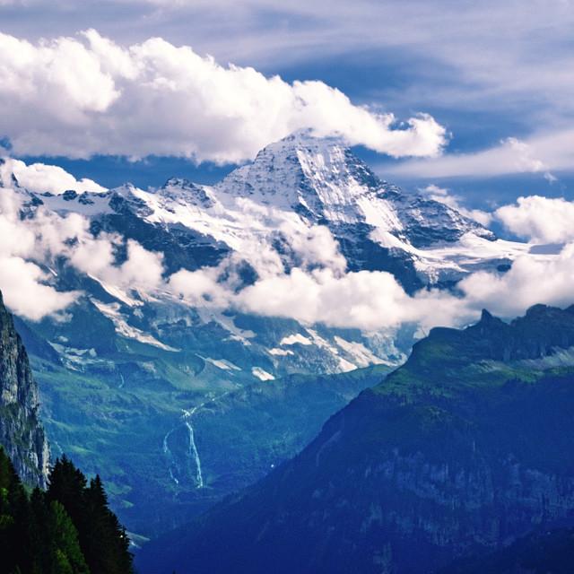 """Fairy Mountain Landscape"" stock image"