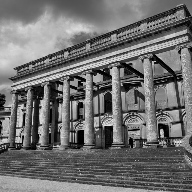 """Witley Court"" stock image"