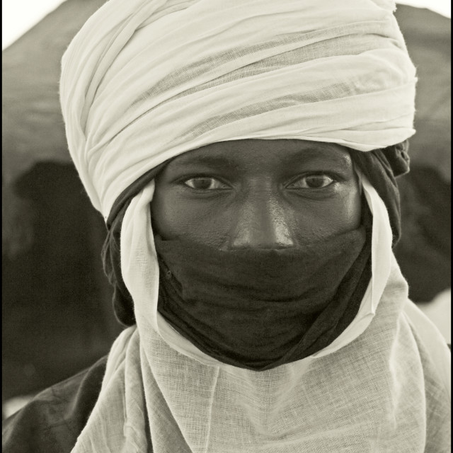 """Mohamed; Timbuktu, Mali, West Africa"" stock image"