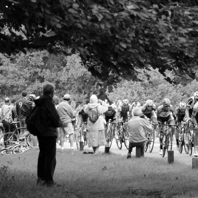 """Peloton London-Surrey Classic 2017"" stock image"