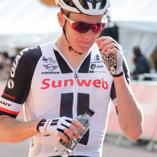 """Team Sunweb London-Surrey Classic 2017"" stock image"