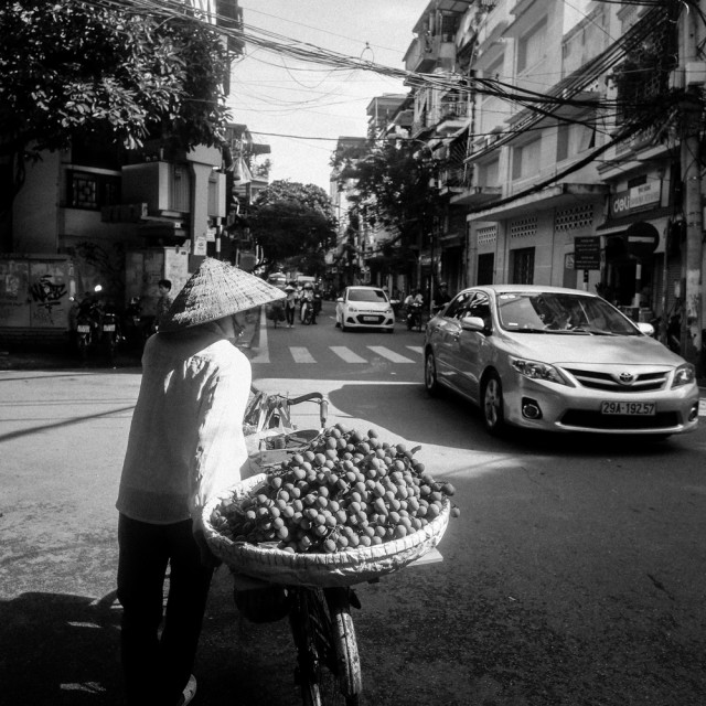 """Daily life in Hanoi"" stock image"