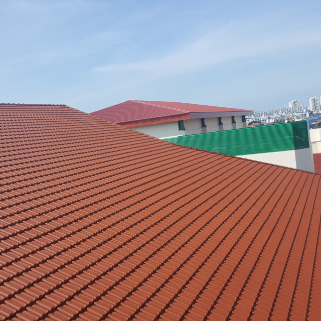 """""""The Roof"""" stock image"""
