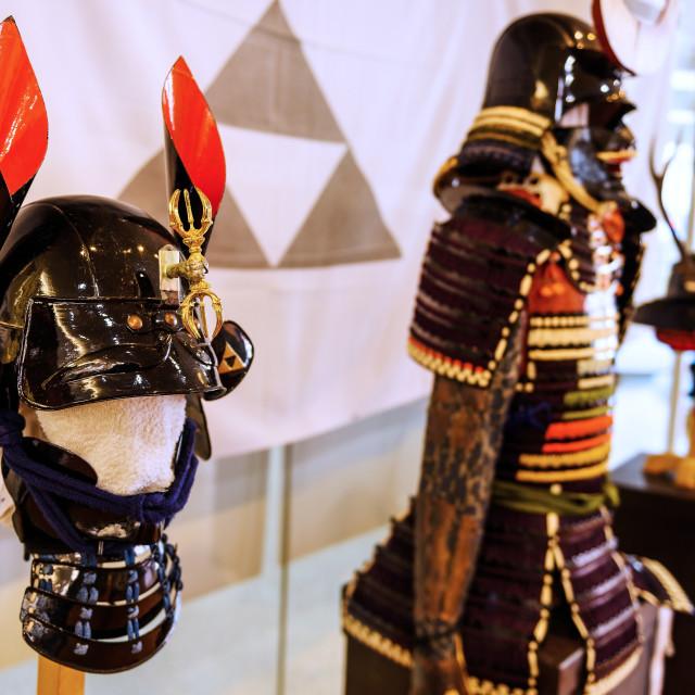 """""""Japanese Samurai tradition armor"""" stock image"""