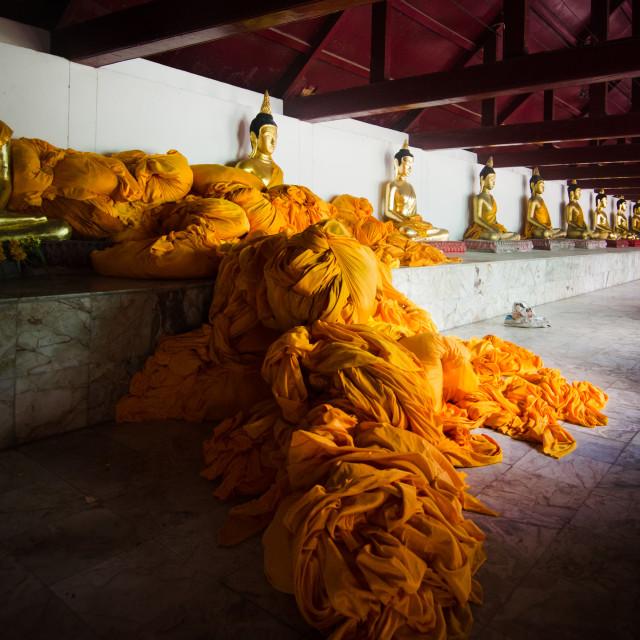 """""""Monks laundry"""" stock image"""