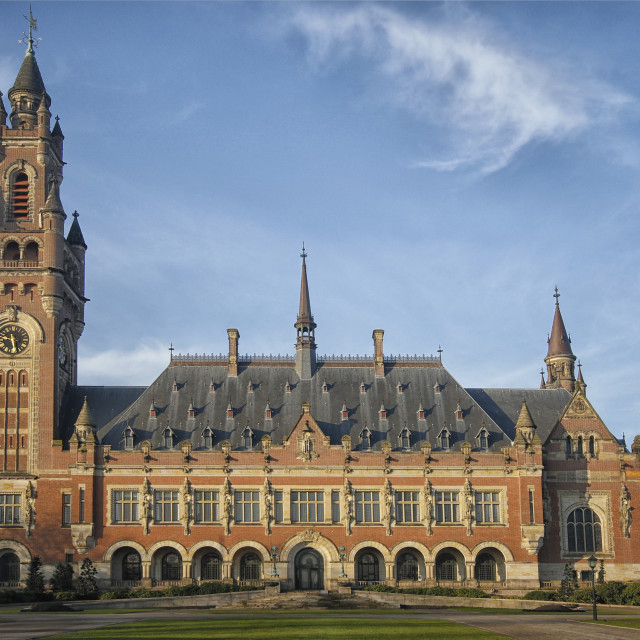 """Peace Palace The Hague"" stock image"