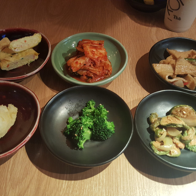 """Simple Fare Series - Korean Side Dishes"" stock image"