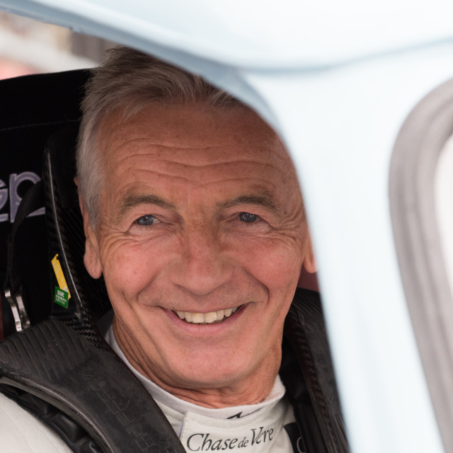 """""""Tony Jardine all smiles for the cameras"""" stock image"""