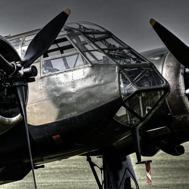 """""""Blenheim Bomber"""" stock image"""