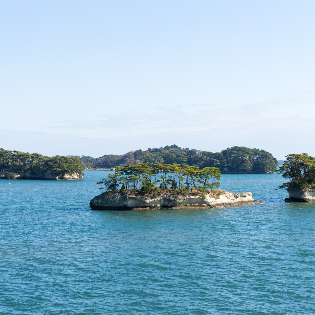 """Matsushima Islands in japan"" stock image"