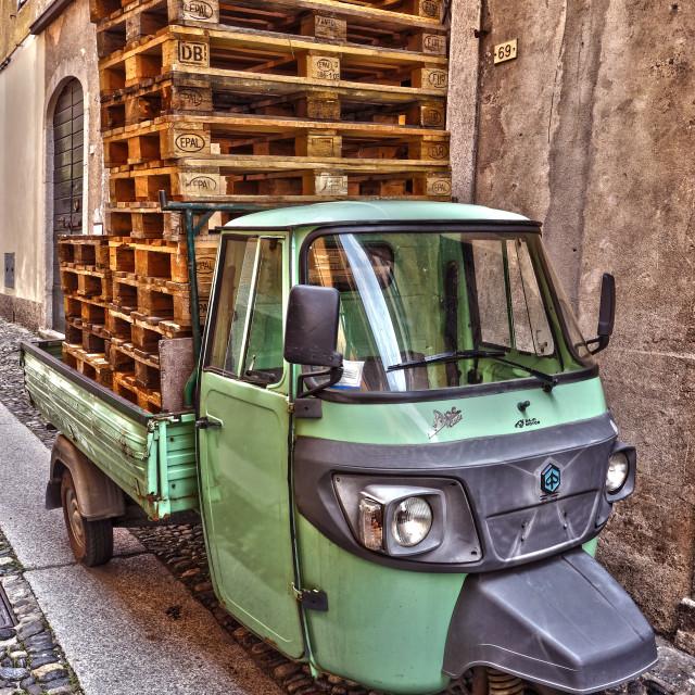 """""""Piaggio Ape Classic"""" stock image"""