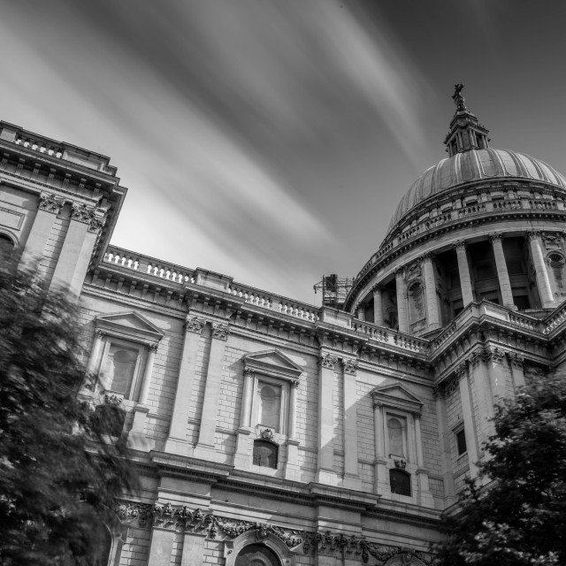 """Sky of St Paul's"" stock image"