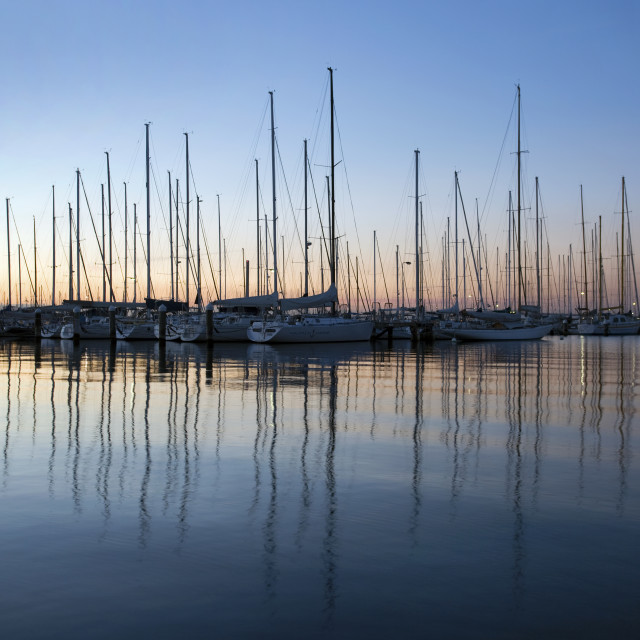 """Hobsons Bay"" stock image"