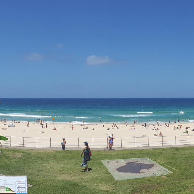 """Bondi Beach"" stock image"