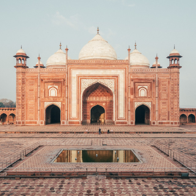"""Taj Mahal, India"" stock image"
