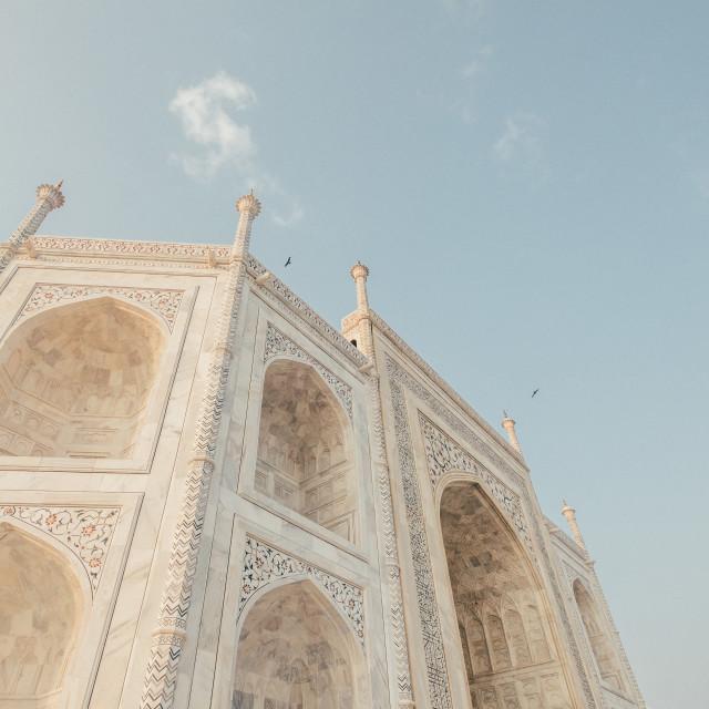"""Taj Mahal, India."" stock image"