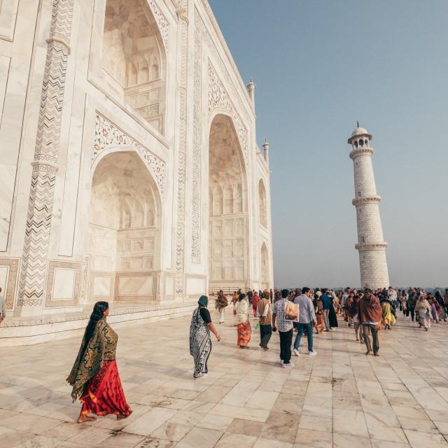 """Taj Mahal, India"" stock image"