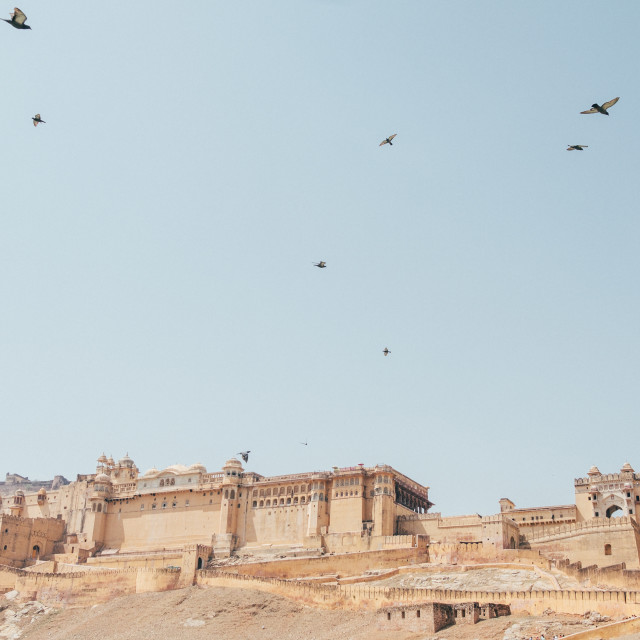 """""""Amer Fort, India"""" stock image"""