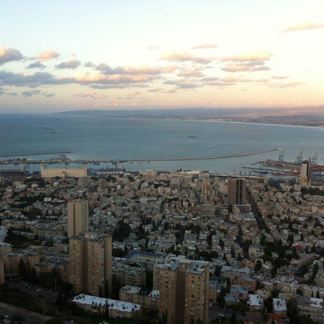 """City of Haifa"" stock image"