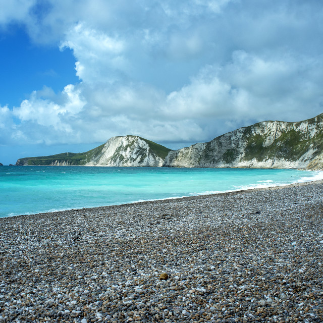 """Worbarrow Bay, Jurassic Coast"" stock image"