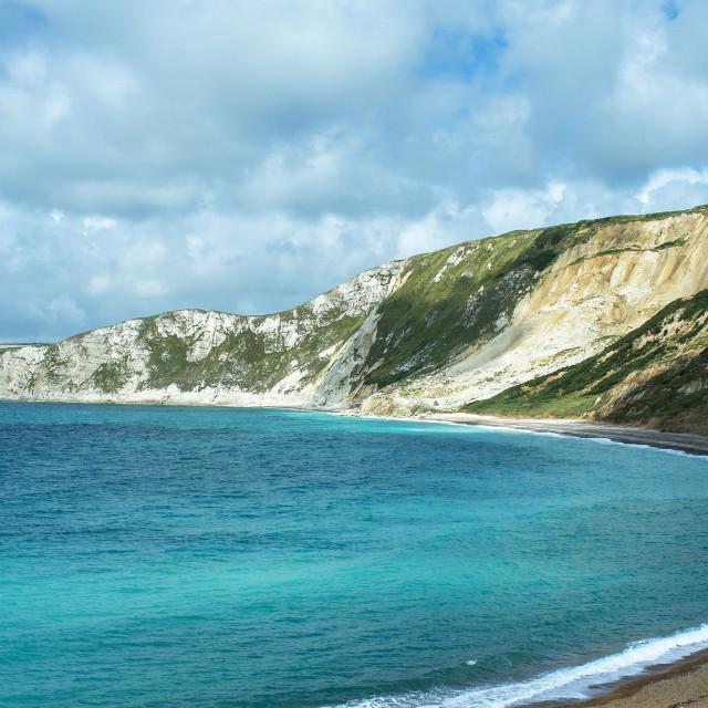"""Worbarrow Bay Dorset"" stock image"