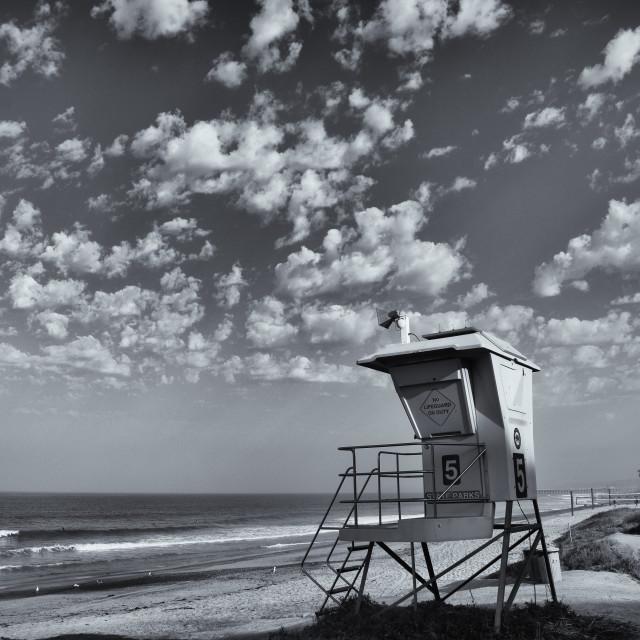 """California Beach"" stock image"