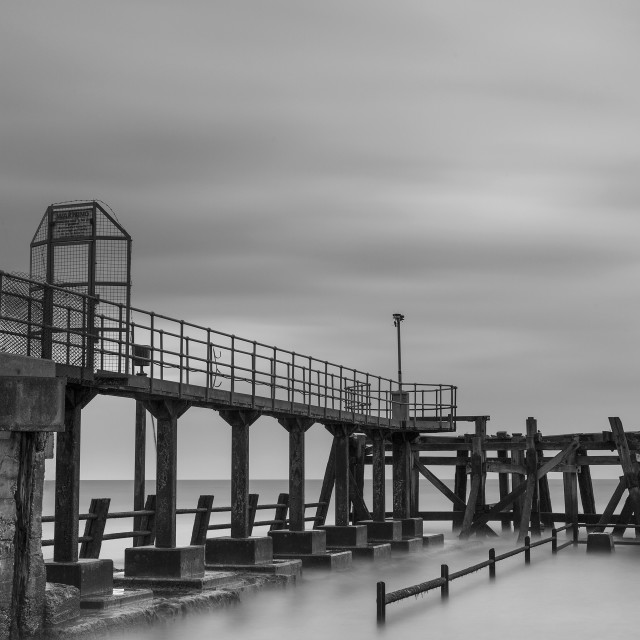 """""""Middle Pier"""" stock image"""