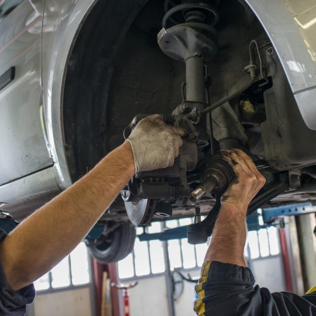 """""""Mechanic"""" stock image"""