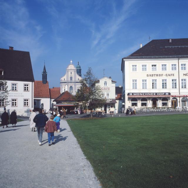 """""""Kapellplatz"""" stock image"""
