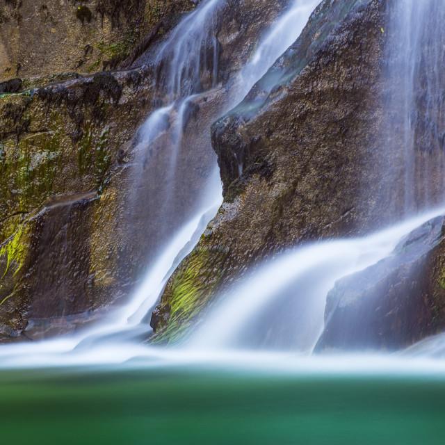 """Crosis Waterfall"" stock image"