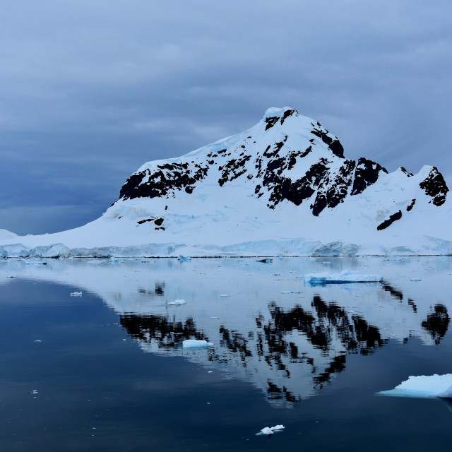 """Mountain in Antarctica"" stock image"