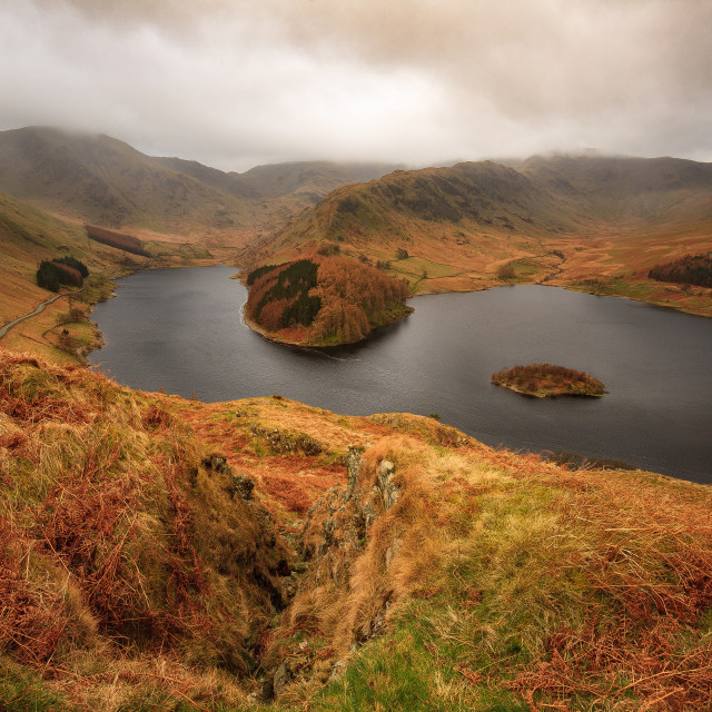 """Haweswater, The Lake District."" stock image"