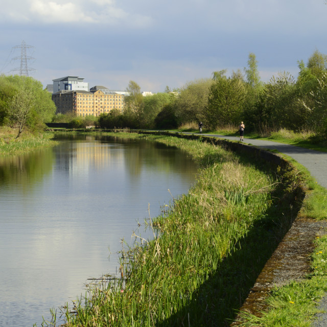 """""""Forth and Clyde Canal"""" stock image"""