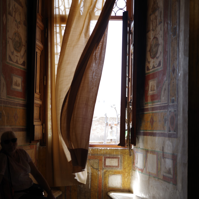 """Castel Sant'Angelo, Rome, interior"" stock image"