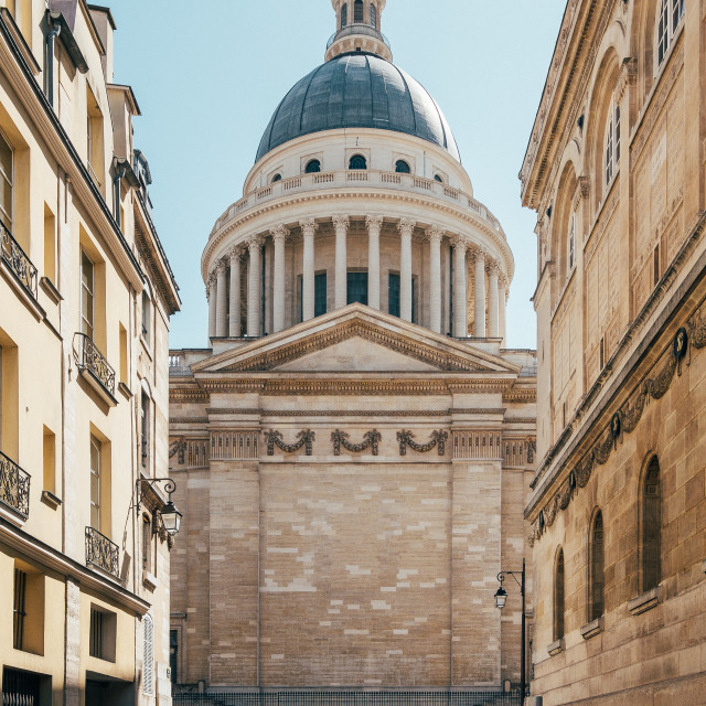"""Panthéon, Paris"" stock image"