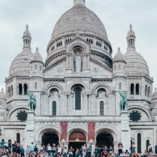 """""""Sacré-Cœur, Paris"""" stock image"""