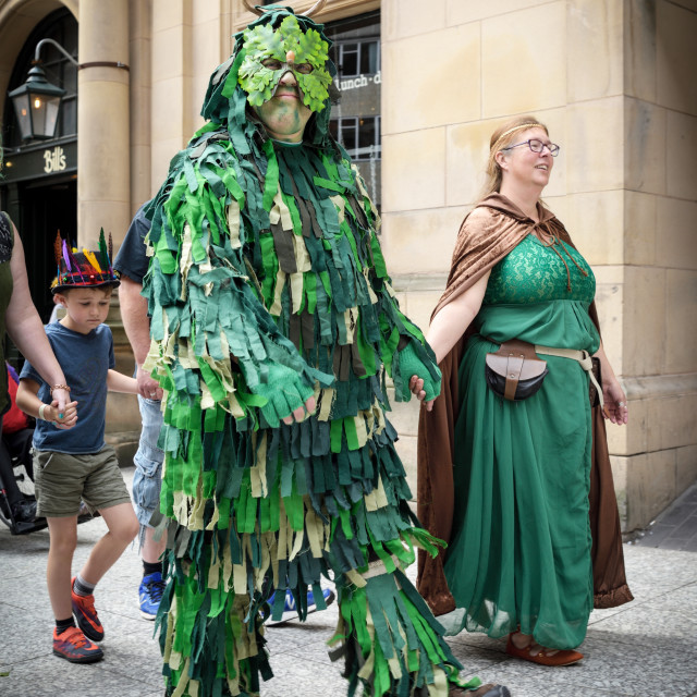 """Pagan Pride in Nottingham,UK"" stock image"