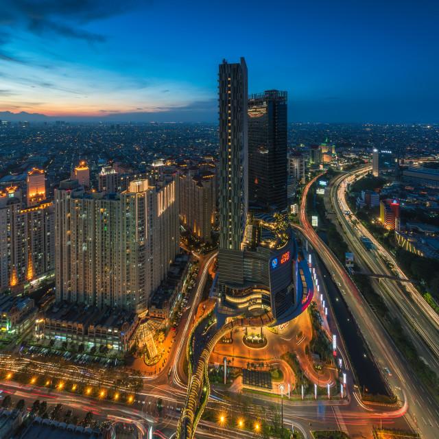 """""""Jakarta: Neo Soho Mall"""" stock image"""