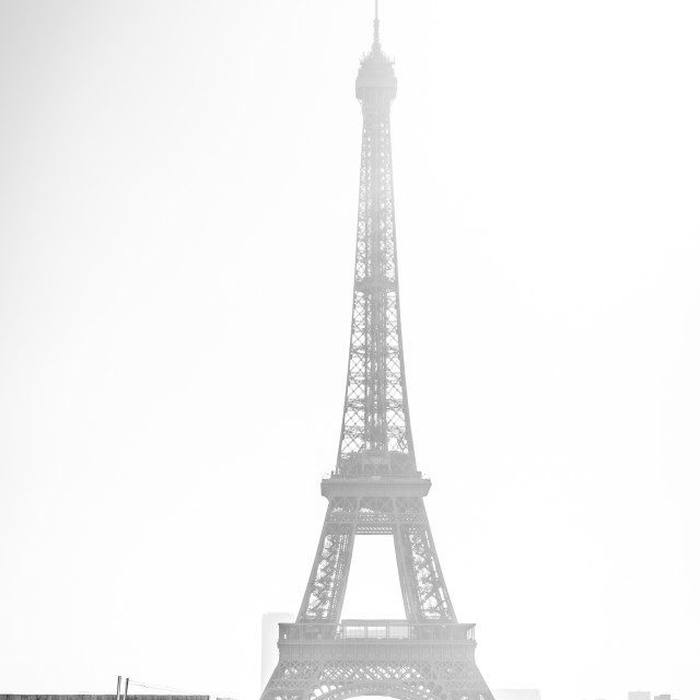 """""""Spectators at the Effeil Tower"""" stock image"""