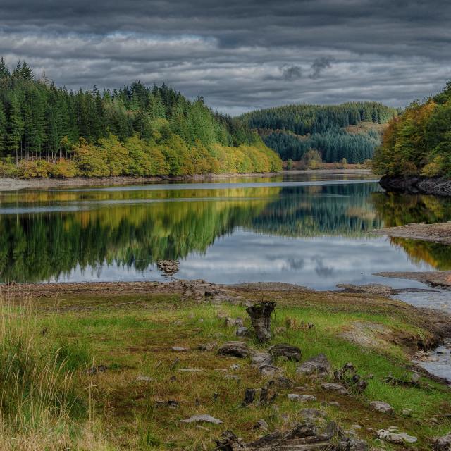 """""""Loch Drunkie"""" stock image"""