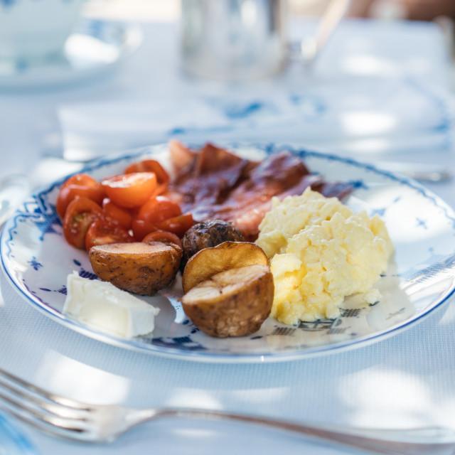 """Moroccan Breakfast"" stock image"