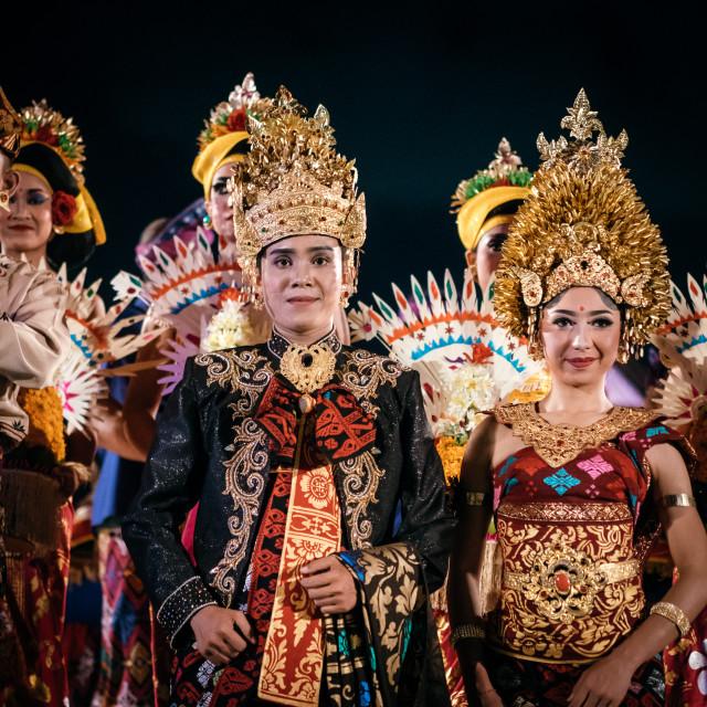 """Traditional Balinese Dress"" stock image"