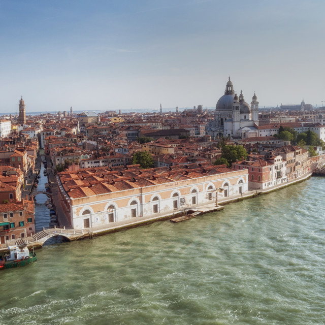 """Venice city and Grand Canal"" stock image"